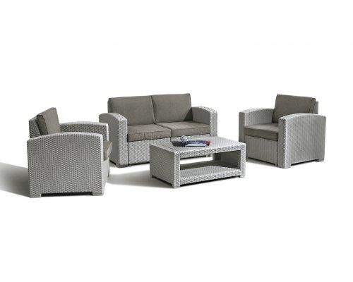 Комплект для отдыха IDEA lUX 4 (light grey)