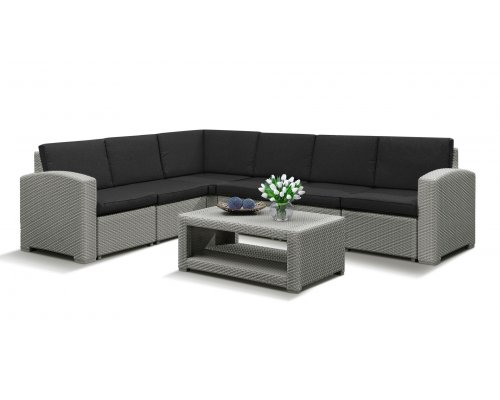 Комплект для отдыха IDEA Grand 5 (light grey)