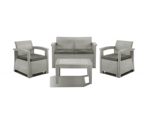 Комплект для отдыха IDEA Soft 4 (light grey)