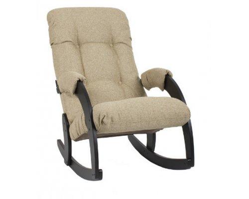 Кресло-качалка Комфорт Модель 67 (ткань)