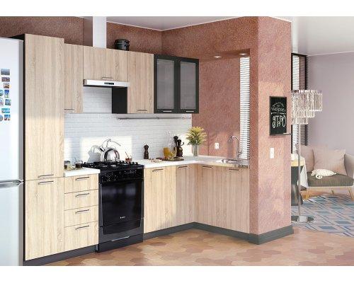 Угловая кухня Брауни-09 (2600/1400)