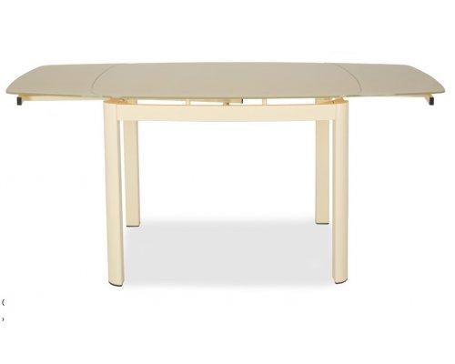 Обеденный стол DT6236B (milk) H31 шелк