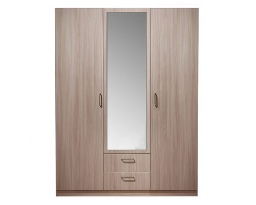 Шкаф 3-х дверный Эко 5.14 с зеркалом