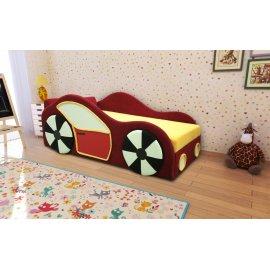 Детский диван Машинка (левый)