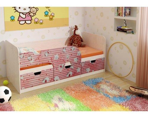 Детская кровать Минима 1860 (хеллоу Китти)