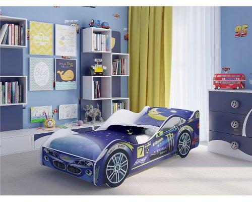 Детская кровать-машина Пилот
