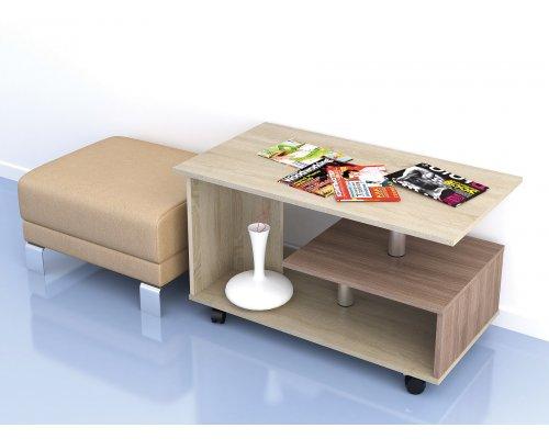 Журнальный стол Консул-5 (дуб сонома)