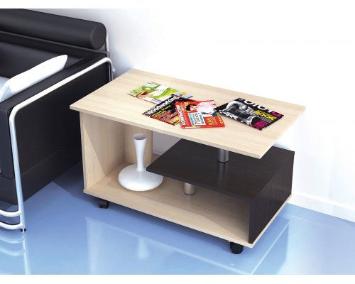 Журнальный стол Консул-5 (молочный дуб)