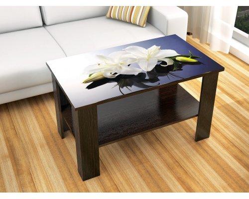 Журнальный стол Консул-6 (лилии)
