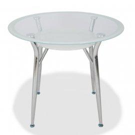Обеденный стол S-603 (super white line) 900