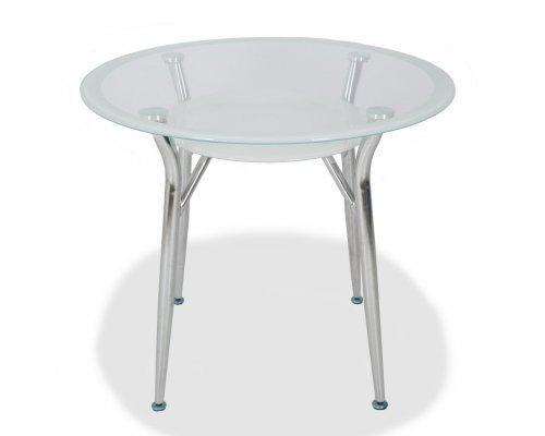 Обеденный стол S-603 (super white line) 800