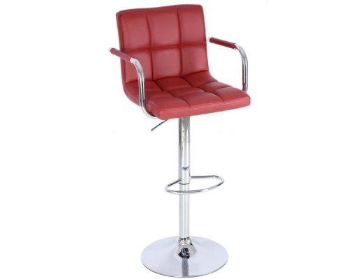 Барный стул JY-1006 Dark red