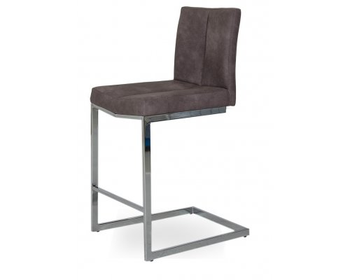 Барный стул YS-16 (Самука) dark brown (2)