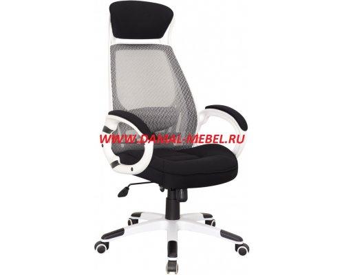 Кресло руководителя RT-009 white (белая спинка/черное сидение)