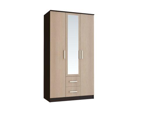 Шкаф Фиеста 3-х дверный с зеркалом