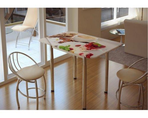 Обеденный стол с принтом Десерт