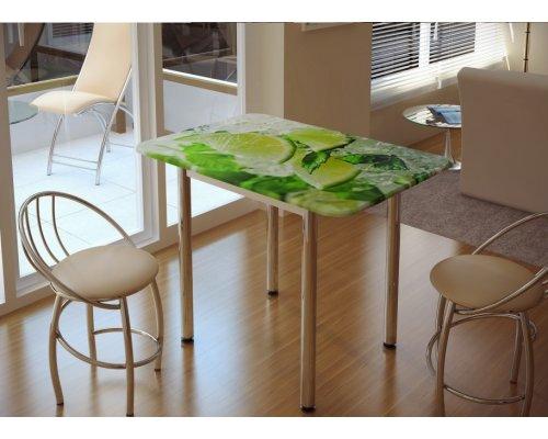 Обеденный стол с принтом Лайм
