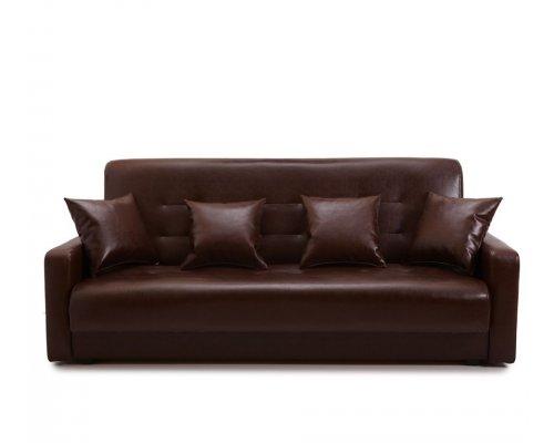 Диван Аккорд 120 коричневый