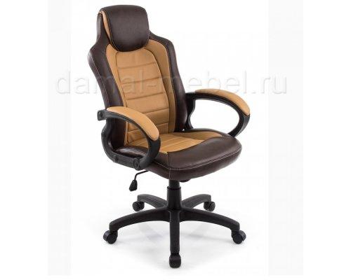 Компьютерное кресло Kadis (коричневое/бежевое)