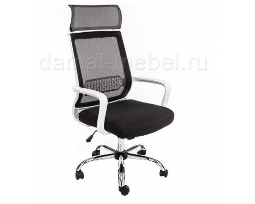 Компьютерное кресло Lion (черно-белое)
