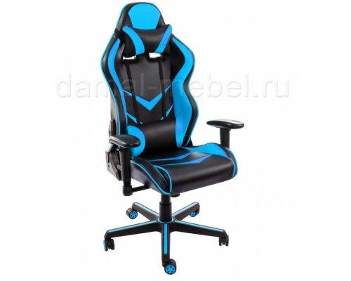 Компьютерное кресло Racer (голубое)