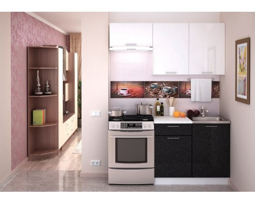 Кухня Валерия М-06 (металлик)