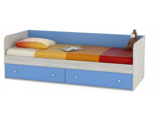 Детская кровать Тетрис 1 347 (капри синий)