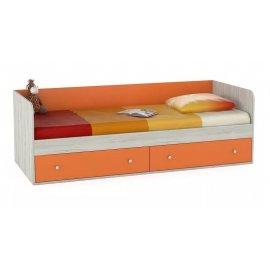 Детская кровать Тетрис 1 347 (оранжевый)