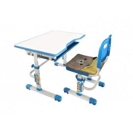 Комплект: растущая парта и стул с чехлом Rifforma SET 10 B