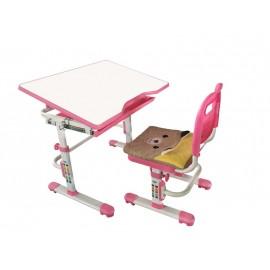 Комплект: растущая парта и стул с чехлом Rifforma SET 10 P