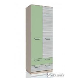 Шкаф для одежды с ящиками Рико Модерн НМ 013.02-03