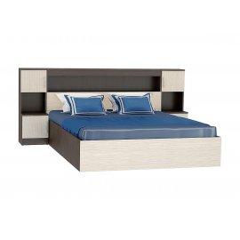 Кровать Бася КР-552 (1600) с закроватным модулем