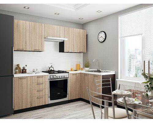 Кухня Брауни-04 (2200/1200) угловая