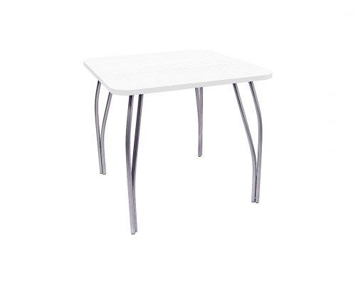 Обеденный стол LC-11 квадратный (белое дерево)
