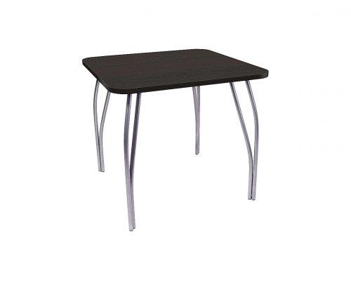 Обеденный стол LC-11 квадратный (черное дерево)