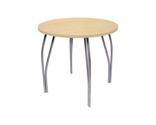 Обеденный стол LC-11 круглый (медовое дерево)