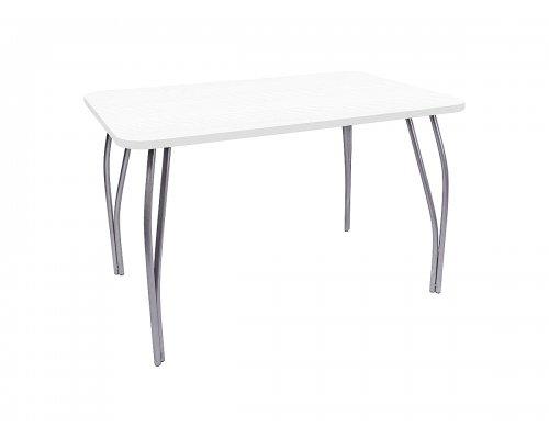 Обеденный стол LC-11 прямоугольный (белое дерево)