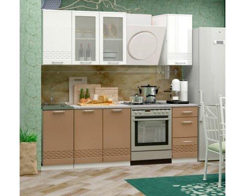Кухня Волна (капучино) 1700