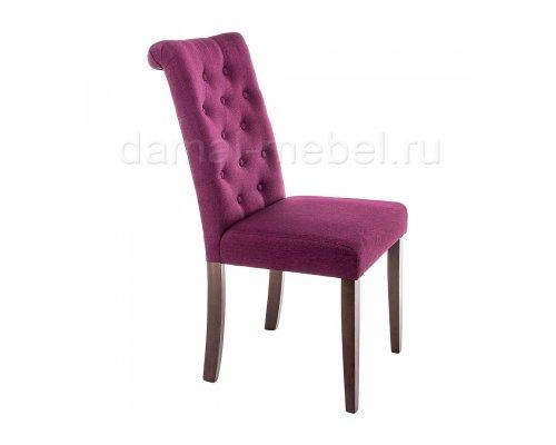 Стул Amelia dark walnut/fabric purple