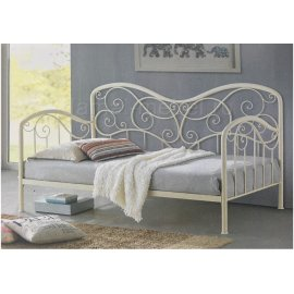 Кровать Inga 900 Glossy Ivory