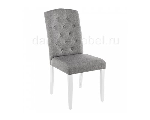 Стул Menson white/fabric pebble