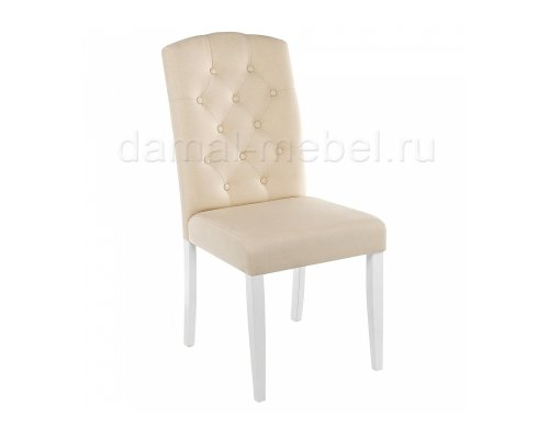 Стул Menson white/fabric cream