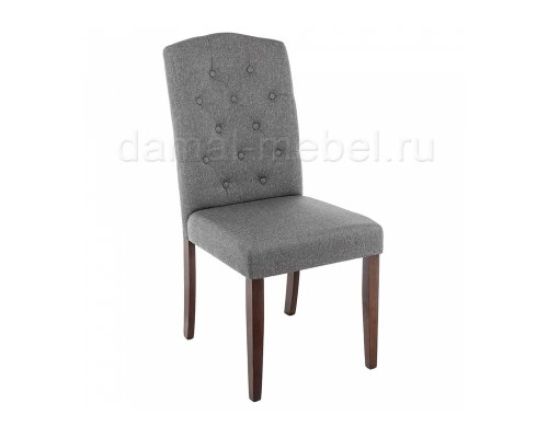 Стул Menson dark walnut/fabric grey