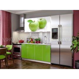 Кухня ЛДСП Яблоко 1600